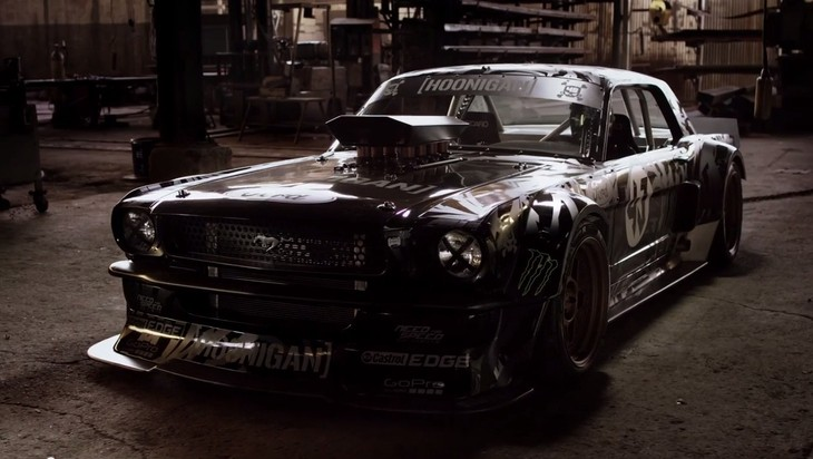 Ken Block Gymkhana Seven Cars Co Za