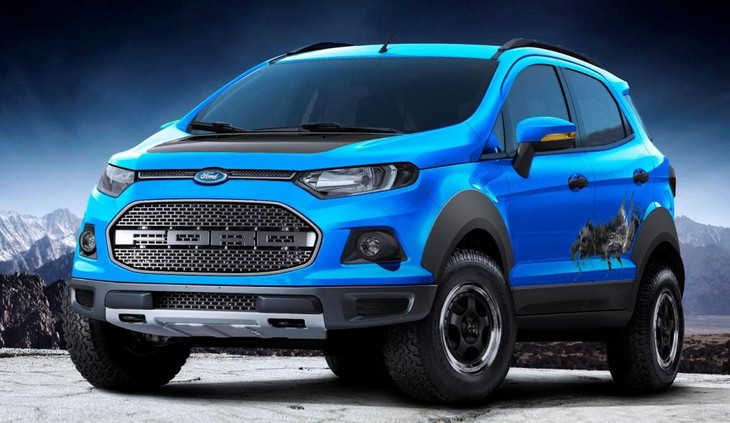 Ford Ecosport Storm Concept Cars Co Za
