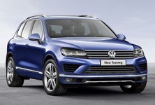 New Volkswagen Touareg Front
