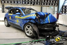 Porsche Macan Crash Test