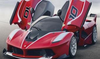 Ferrari FXX K Front