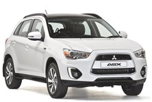 Mitsubishi ASX Front And Side