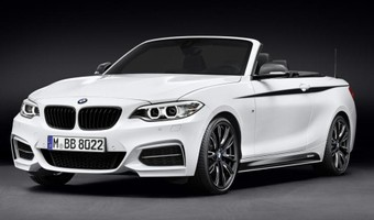 M Performance Parts BMW 2 Series Convertible Front And Side