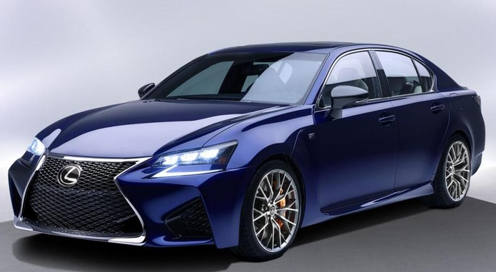 2016 Lexus GS F Front And Side