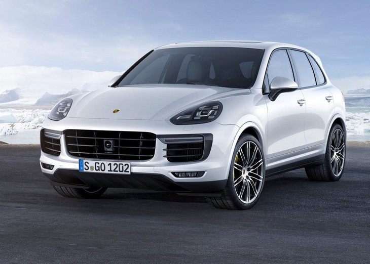Cayenne Turbo S 1