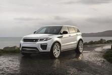 2016 Range Rover Evoque Front