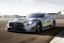 Mercedes Benz AMG GT3 Front