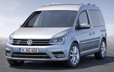2016 Volkswagen Caddy Front