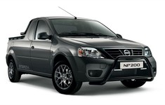 Nissan NP200 Stealth Side And Front