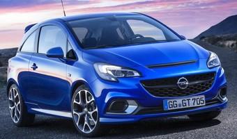 2016 Opel Corsa OPC Front