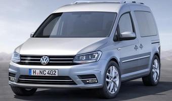 2016 Volkswagen Caddy Front