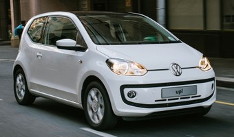 Volkswagen Up Front Angle