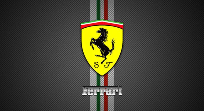 Ferrari Logo Wallpaper Background Hd