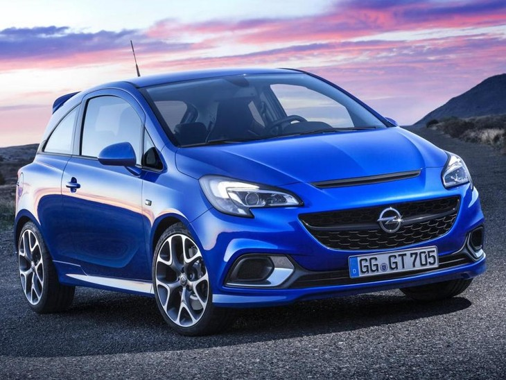 2016 Opel Corsa OPC Front