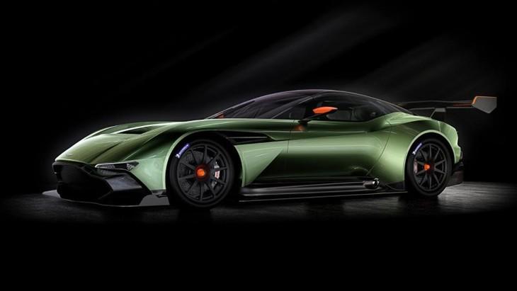 Aston Martin Vulcan Front Side