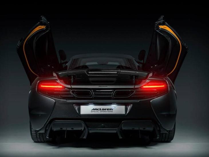 McLaren MSO 650S Project Kilo Rear