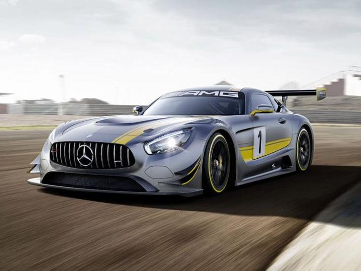 Mercedes Benz AMG GT3 Front
