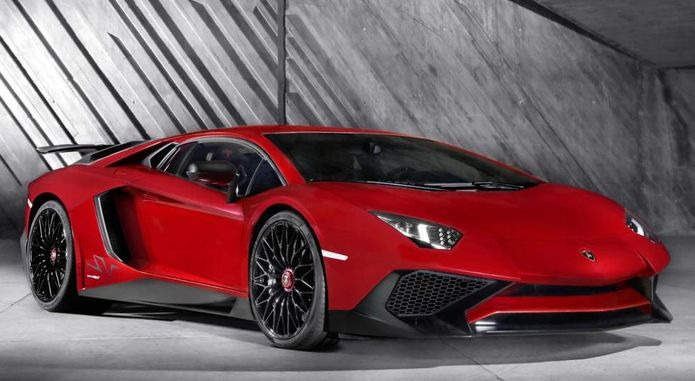 Lamborghini Aventador LP 750 4 SV Front