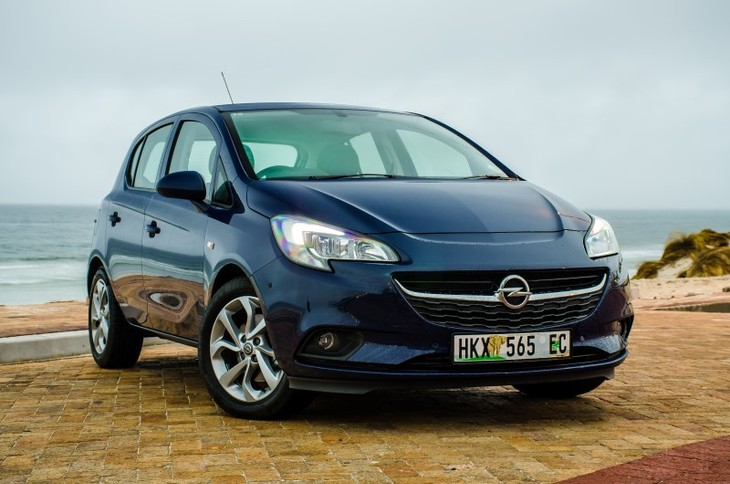 Opel Corsa Front Close