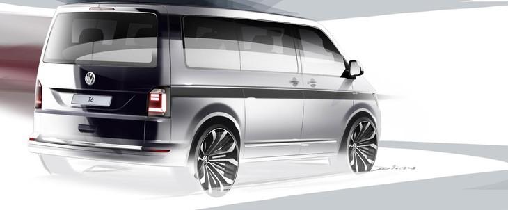 VW Transporter Sketch