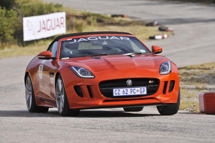 Jaguar F TYPE S Convertible At 2014 Hillclimb