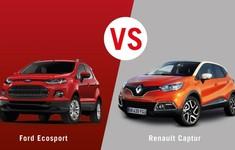 Renault Captur Vs Ford EcoSport