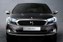 New Citroen DS4 Front