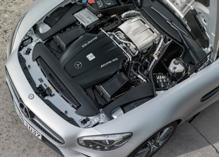 Mercedes-AMG-GT-S-Engine