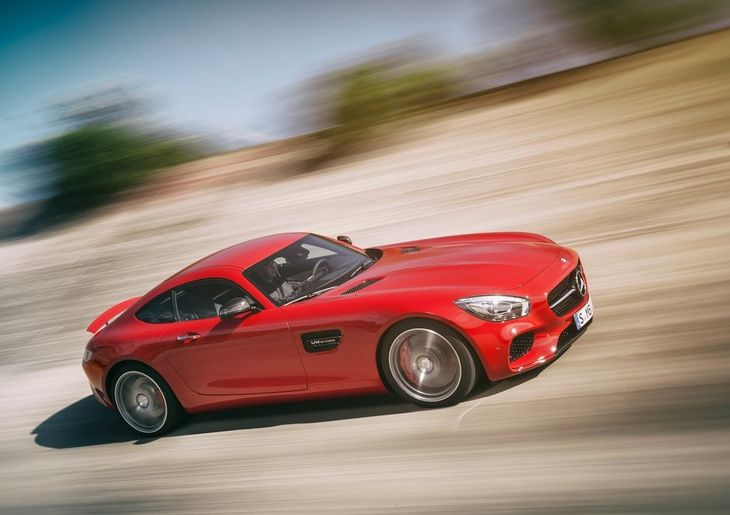 Mercedes Benz AMG GT 2016 1024x768 Wallpaper 2f