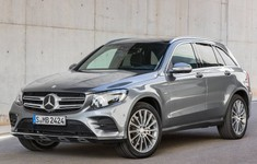 Mercedes Benz GLC 2016 1024x768 Wallpaper 02