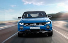 Volkswagen T Roc Concept Front View On Road