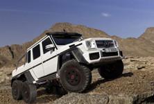 6x6 Mercedes Benz G63 Amg Mega