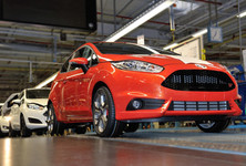 Ford Fiesta St Production