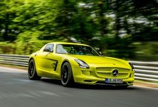Mercedes Benz Sls Amg Coupe Electric