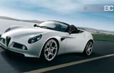 Alfa Romeo 8c Spider A