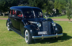 Classic 1939 Packard Hearse