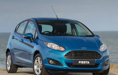 Ford Fiesta 2013 Blue