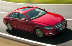 Mercedes Benz Cls 250 Cdi Blueefficiency Red