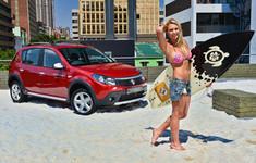 Roxy Louw And Renault Sandero Stepway