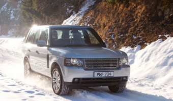 2010 Land Rover Range Rover Front