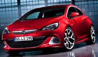 2012 Opel Astra Opc