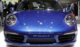 2013 Porsche 911 Carrera 4s Front