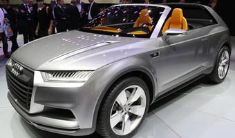 Audi Crosslane Coupe Concept Paris