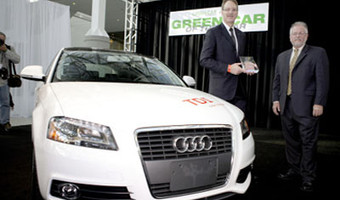 Audi A3 Tdi Green Car