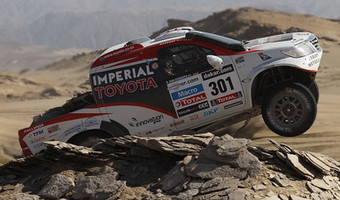 Dakar De Villiers Fights Back 1