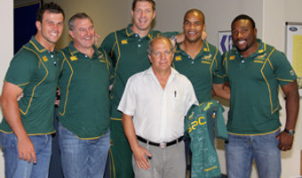 Ford With Springboks 1