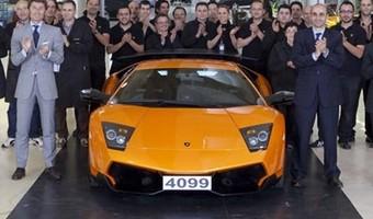 Lamborghini Murcielago Last