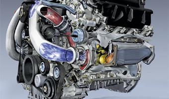 Mercedes Benz V6 V8 Engine