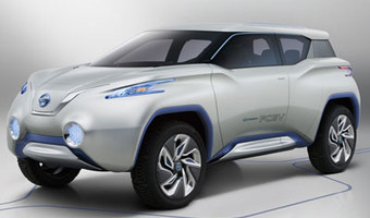 Nissan Terra Concept Suv Front