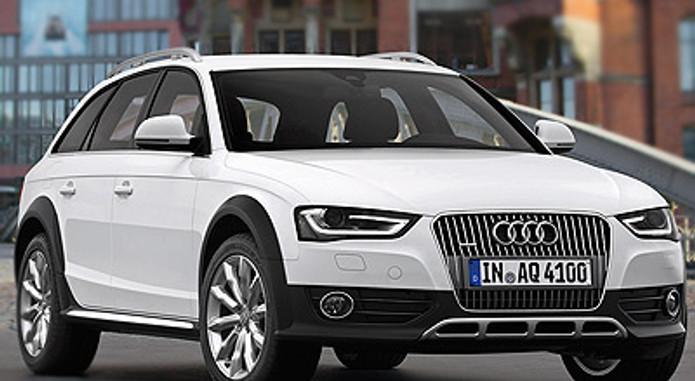 04 2013 Audi A4 Allroad Quattro